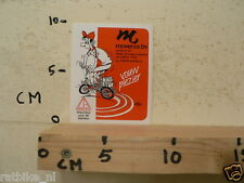 STICKER,DECAL DIBLASI VOUW PLEZIER MOVERZA BV FIETS CYCLING