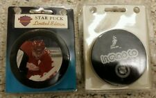 SERGEI FEDOROV LIMITED EDITION INGLASCO STAR PUCK RED WINGS