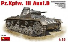 1/35 MINIART Pz.Kpfw.III AUSF.D GERMAN MEDIUM TANK 35169
