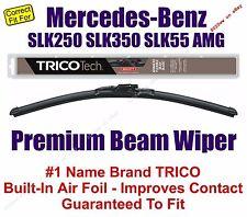 Wiper Premium Beam Blade fits 1998-2016 Mercedes-Benz SLK250 SLK350 (1pk) 19220