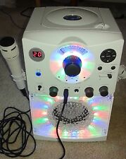 The Singing Machine SML-385W Disco Light Karaoke Machine. Comes with free CD