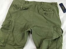 Polo Ralph Lauren Military  Green Olive Cargo Pants ( W 34 L 30) $ 145
