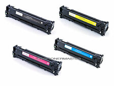 Set of 4 CE320A 128A Laser Toner For HP Color LaserJet Pro CM1415FNW CP1525NW