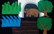Felt Board/ Flannel story- WE'RE GOING ON A BEAR HUNT -preschool circle time