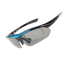EOC Professional Polarized Cycling Glasses Bike Sports Sunglasses 5 Lens 100D