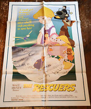 Original WALT DISNEY Australian One Sheet Cinema Poster: THE RESCUERS
