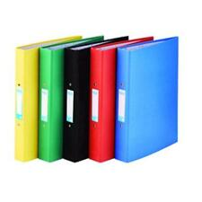10 x ELBA A4 PAPER 25mm RING BINDER 2 O-RING PLUS ASSORTED COLOUR 400033499