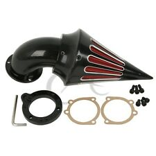 Black Spike Air Cleaner Kits Intake Filter For Harley CV Carburetors Sportster