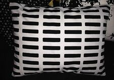 "Alvar Aalto 12x16"" design Siena heavy fabric pillow cushion cover case, handmade"