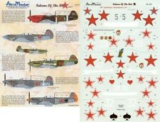 AEROMASTER 48-505 - DECALS 1/48 - FALCONS OF THE RED Pt. 1