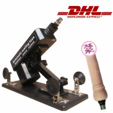 DHL ship sex machine with1 super big attachment gunlock for female women sex toy