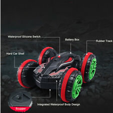 2.4Ghz 4WD Remote Control Off-Road Car 360° Spin Amphibious Stunt Car RC Buggy