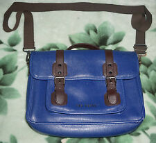 Ted Baker Casual Blue Satchel Laptop Bag
