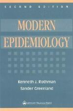 Modern Epidemiology by Kenneth J. Rothman and Sander Greenland (1998,...