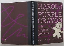 CROCKETT JOHNSON Harold and the Purple Crayon FIRST EDITION, FIRST ISSUE