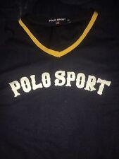 Vintage Polo Ralph Lauren Jersey Sz XXL Sport Shirt Baseball Spellout