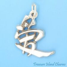 """LOVE"" CHINESE CHARACTER SYMBOL .925 Sterling Silver Charm"