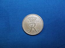 "Denmark 1964 5 Ore Coin ""AU"" Composition Bronze  KM#848.1"