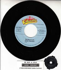 "GENE VINCENT Be-Bop-A-Lula & EDDIE COCHRAN C'mon Everybody 7"" 45 rpm record NEW"