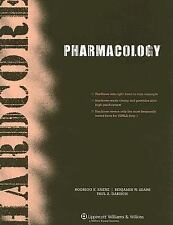Hardcore Pharmacology (Hardcore Series), Dabisch PhD, Paul Adam, Sears MD, Benja