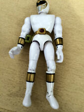 "Power Rangers Mighty Morphin Blanco 8"" figura de la versión 1st"