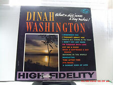 DINAH WASHINGTON -(LP)- WHAT A DIFF'RENCE A DAY MAKES - MERCURY - MG20479 - 1959