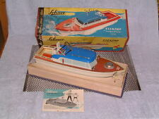 "VINTAGE SCHUCO ""NAUTICO 5550"" BOAT. FULLY WORKING & 100% COMPLETE W/BOX & INSTR."