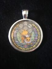 Kingdom Hearts temática vidrieras Collar Llavero Pokemon Jolteon