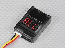 RC Lipo Battery Low Voltage Tester 2S-8S Buzzer Alarm Checker Test LED Indicator