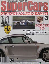 SUPERCARS magazine Issue 3 Featuring Porsche 959 Cutaway, Enzo Ferrari