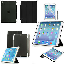 Apple iPad Air 2 Magnetic Smart Cover, SCREEN PROTECTOR STYLUS + Back Case  2014