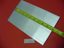 """2 Pieces 1/4"""" X 6"""" ALUMINUM 6061 T6511 FLAT BAR 10"""" long Solid Plate Mill Stock"""