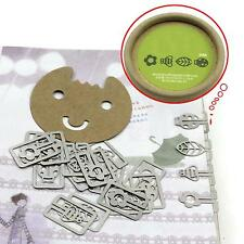 Functional 20pcs Cute Mini Metal Bookmarks Office School Book Note with Case Box