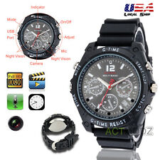 HD Waterproof Wrist Spy Camera Watch Digital Video 8GB 1920*1080P DVR Camcorder