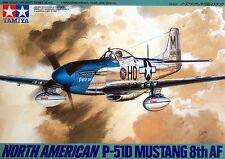 Tamiya 61040 1/48 Scale Model Kit US 8th Air Force North American P-51D Mustang
