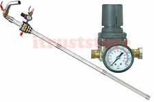 AIR PRESSURE OPERATED FLUID TRANSFER DIESEL DRUM BARREL OIL PUMP LONG TUBE 12GPM