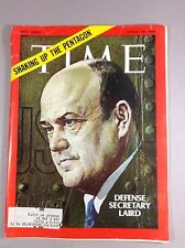 Collectible Time Magazine Shaking Up The Pentagon Aug 29,1969