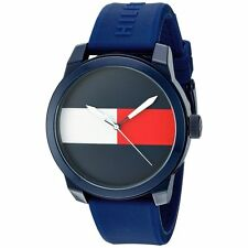 Tommy Hilfiger Men's 'Denim' Quartz Plastic and Rubber Casual Watch 1791322