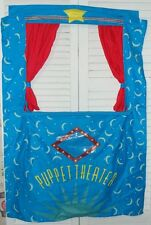 HearthSong Doorway Puppet Theater Curtains Stage
