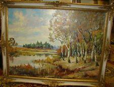 W.H. Jahnke ''Landschaft'' Öl/Leinen   184/13015