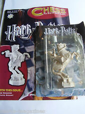 WOW DeAGOSTINI HARRY POTTER CHESS PART # 20 THE NEIGHING WHITE KNIGHT