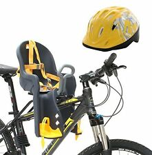 Bike Front Baby Seat Carrier For 6 Months To 3 Years Child W/ Handrail & Helmet
