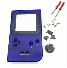 D New Housing Shell Case Cover w/Screwdrivers for Nintendo GBP Game Boy Pocket