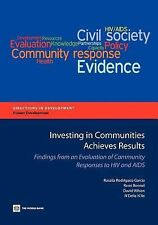 Investing in Communities Achieves Results : Findings from an Evaluation of...