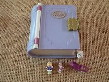 Vintage Bluebird Polly Pocket Sparkle Snowland Storybooks Book Snow Land S1
