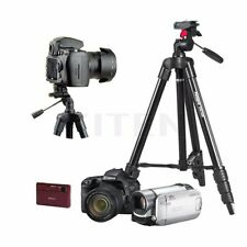 Portable Professional Aluminium Ball Head Tripod For Canon Nikon DSLR Camera DV