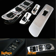 ABS Car Window Mirror Switch Control Button Cover Trim For VW Tiguan 2010-2012