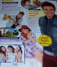 Violetta Jorge Blanco Martina Stoessel Tini 20 pc German Clippings Poster