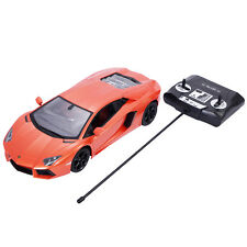 1:14 Lamborghini Aventador LP700-4 Radio Remote Control RC Car Orange New