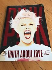 Pink the truth about love tour concert 2013 program Guide